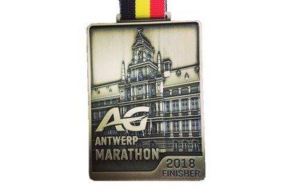 AG Antwerp Marathon medal
