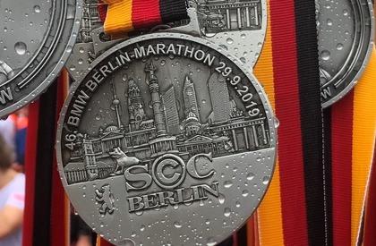 Supplier of the Berlin Marathon medal