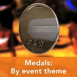 Medals: By event theme