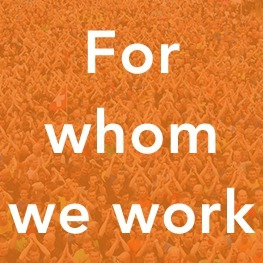 For whom we work