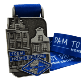 Virtual run medal Damloop