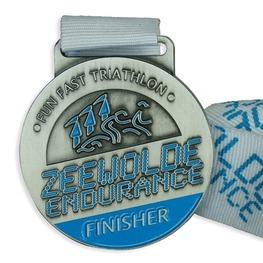 Triathlon medal Zeewolde Endurance