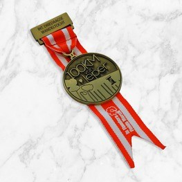 Short ribbon 100KM Ieper medal