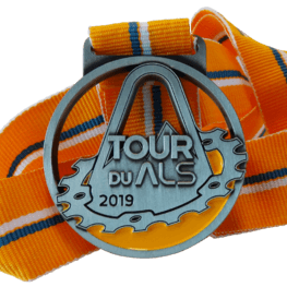 Tour du ALS charity medal
