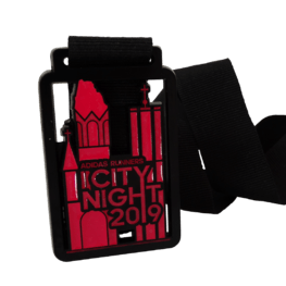 City Night run medal
