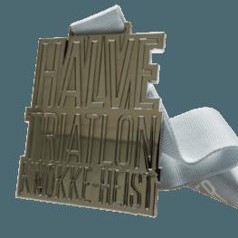 Triathlon Knokke-Heist medal