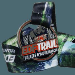 EDF Trail medal