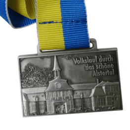 Walking tour Alstertal medal