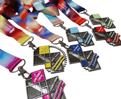 Medal with colouring