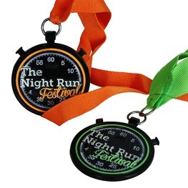 Night run medals Night Run Festival