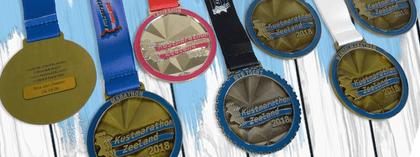 Kustmarathon Zeeland medals