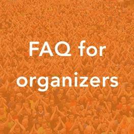 FAQ for organizers