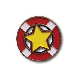 Custom pin badge