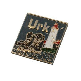 Urk custom pin badge